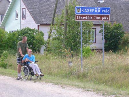 mina ja abistaja Tänavküla Kasepääl